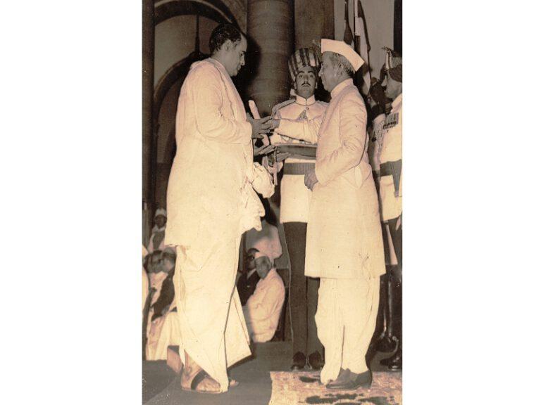 Dr.SCM-Award- Padmashri