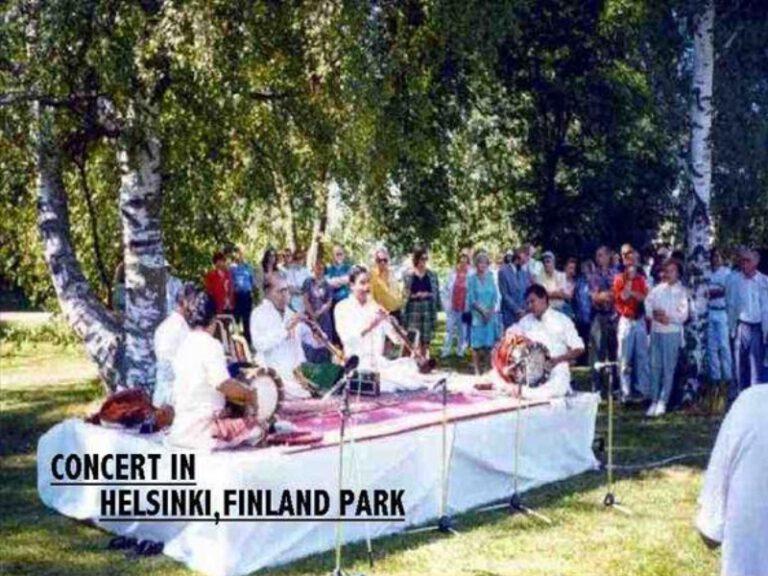 Dr.SCM-Concert in Helsinki Finland Park