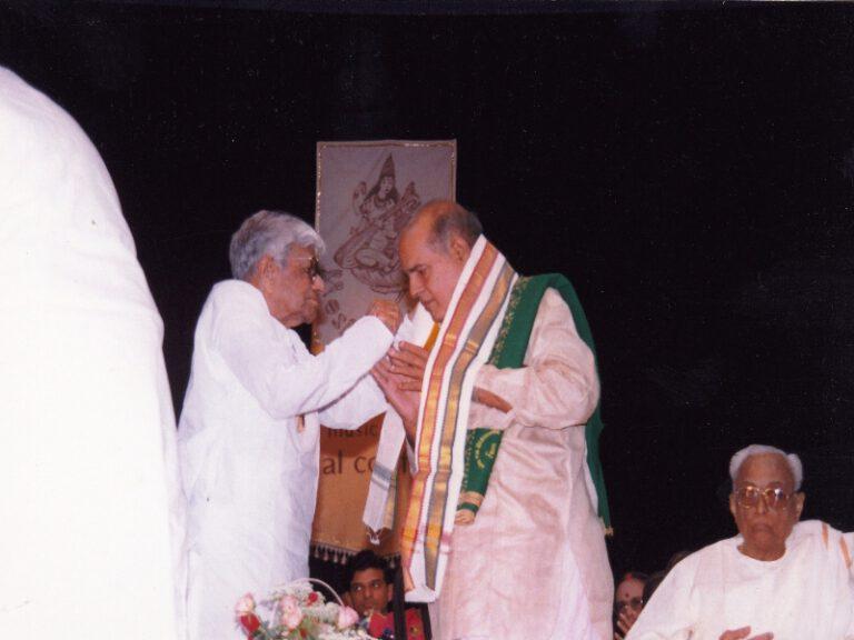 Dr.SCM-sangeetakalanidhi award music academy chennai-4