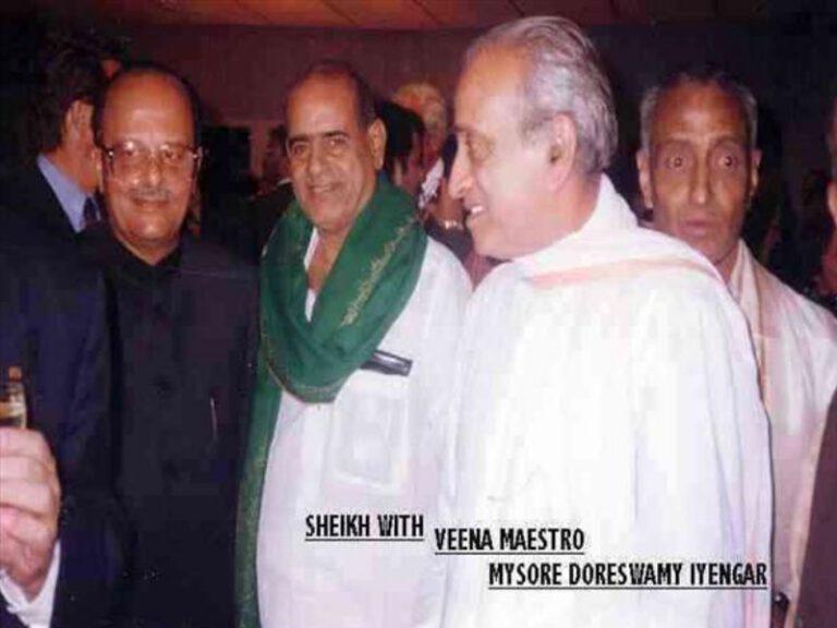 Dr.SCM with Veena Maestro Mysore Doreswamy Iyengar